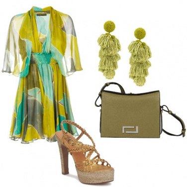 Outfit Oliva e smeraldo