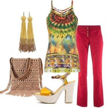 Outfit Per la tua voglia di colore