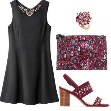 Outfit Minidress nero