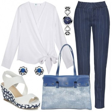 Outfit I jeans gessati