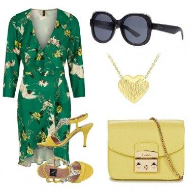 Outfit Lime e verde prato