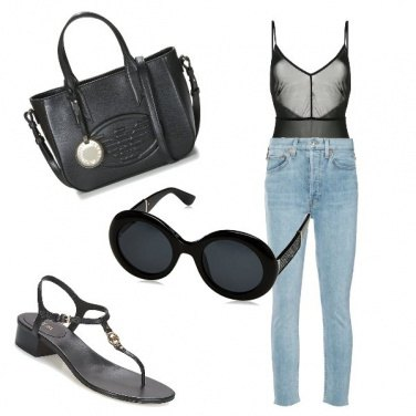 Outfit Body e jeans