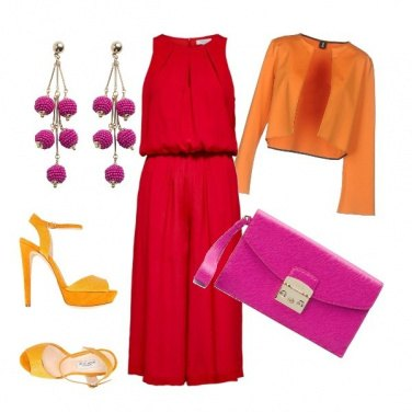 Outfit Hot colors