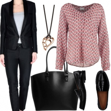 Outfit Tailleur nero