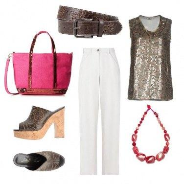 Outfit CMPS Paillettes & zatteroni