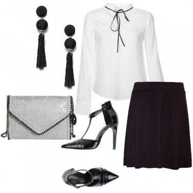 Outfit Orecchini neri