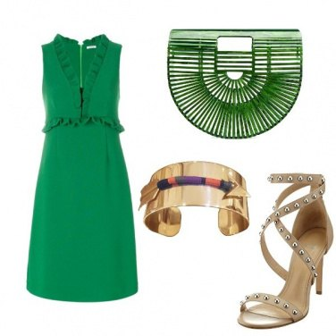 Outfit Green girl