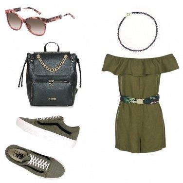 Outfit Urban Chic, vacanza in città