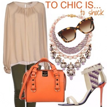 Outfit To chic is to shock