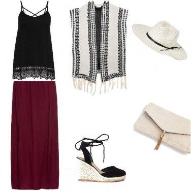 Outfit Comodità in stile boho