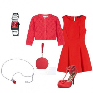 Outfit Total red