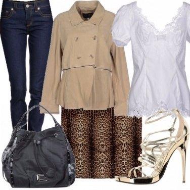 Outfit Castana chiara...