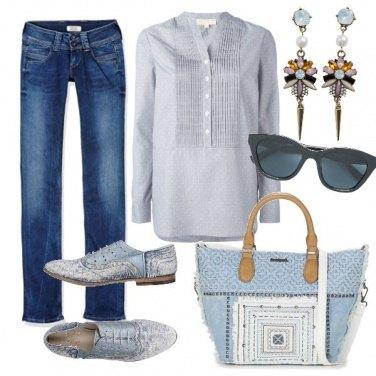 Outfit Semplice e ricercata