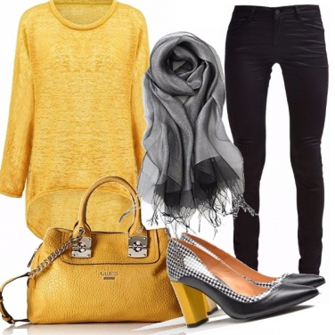 Outfit E giallo sia