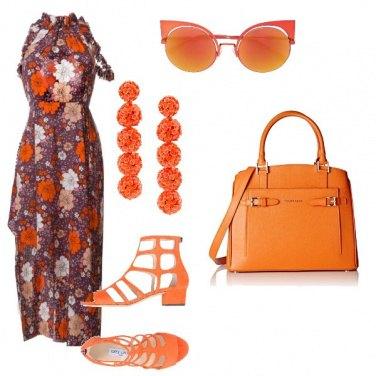 Outfit In ufficio colorata