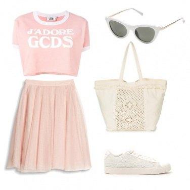 Outfit Il top corto