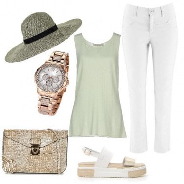 Outfit Soft green