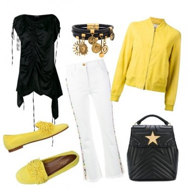 Outfit Yellow weekend