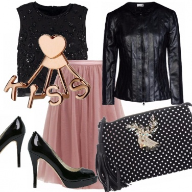 Outfit Glam in tulle e spuntate!