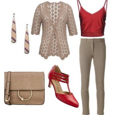 Outfit Una nota di rosso