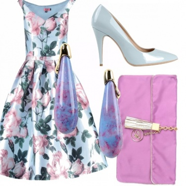 Outfit Cocktail a colori!