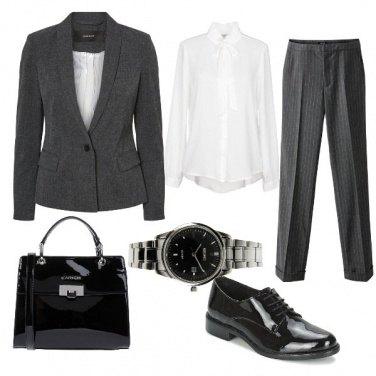 Outfit Una donna al maschile