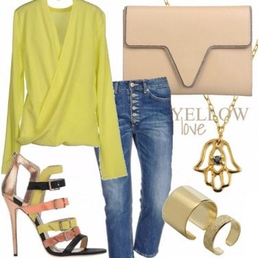 Outfit Yellow Love