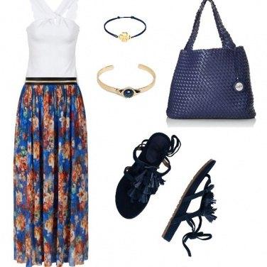 Outfit L\'eleganza del blue