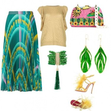 Outfit Luxury Green