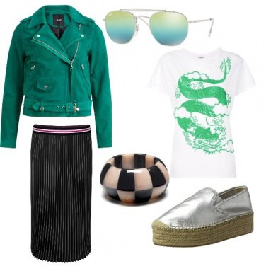 Outfit Verde passion