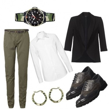 Outfit Green army