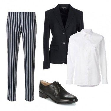 Outfit Donna al maschile