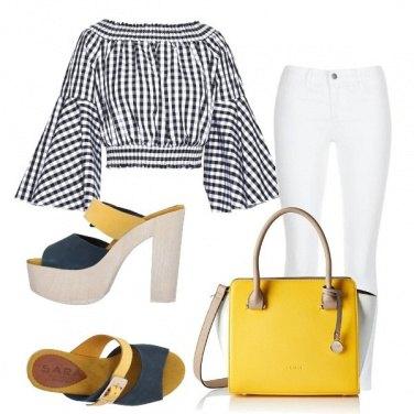 Outfit Tocchi di giallo
