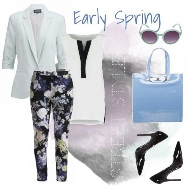 Outfit Early spring street style