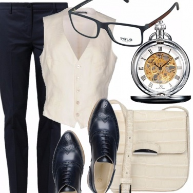 Outfit Mannish style
