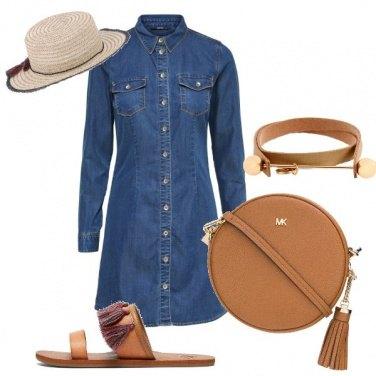 Outfit La camicia-abito