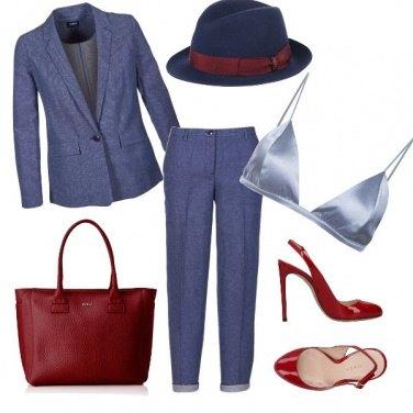 Outfit Cuore di donna