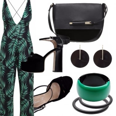 Outfit Tropical night