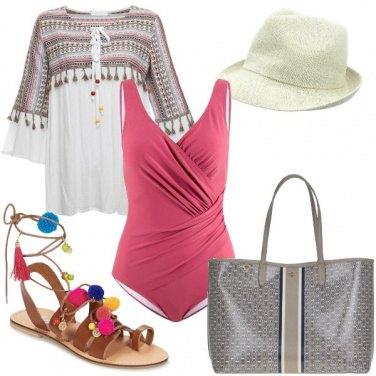 Outfit Etnico da spiaggia