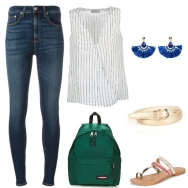 Outfit Go Green Girl!