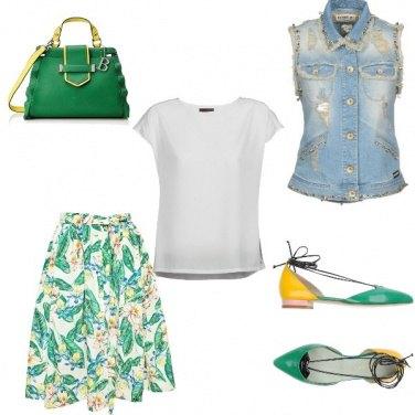 Outfit La dea del colore....Elena
