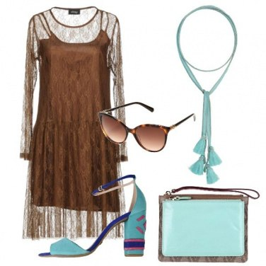 Outfit I particolari acquamarina