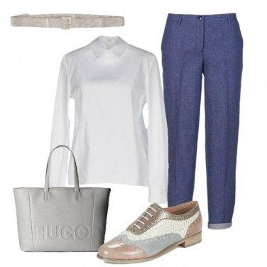Outfit A lavoro con la stringata