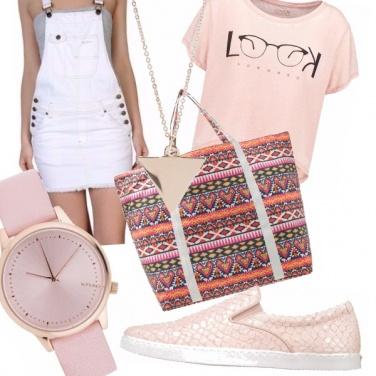 Outfit Romanticamente casual