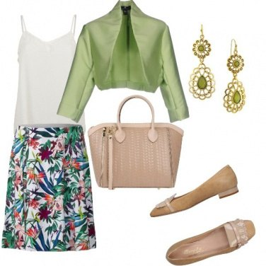 Outfit Lady in green