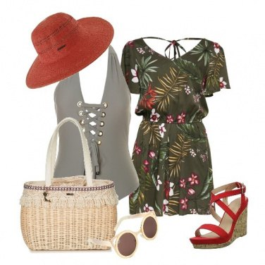 Outfit Trendy al mare