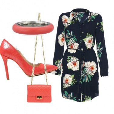 Outfit Coral