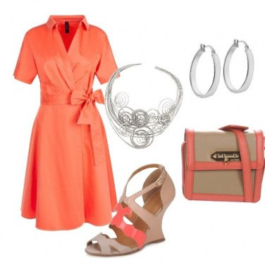 Outfit L' Abito con il fiocco