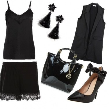 Outfit Black and black