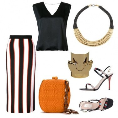 Outfit Uno stile africano